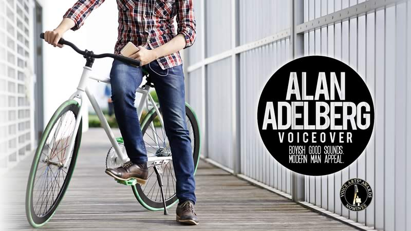 alan adelberg voice actor website design and development by biondo studio.