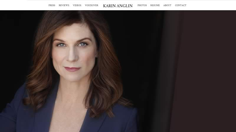 karin anglin on-camera and voice actor designed by biondo studio